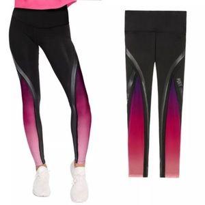 Pink Ultimate ombré mesh high waisted legging